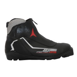 Chaussure ski fond occasion Atomic Motion 25 noir blanc rouge