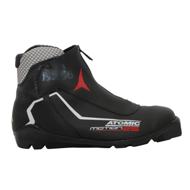 Chaussure ski fond occasion Atomic Motion 25 noir blanc rouge
