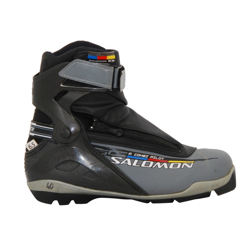 Chaussure ski de fond occasion Salomon r combi pilot