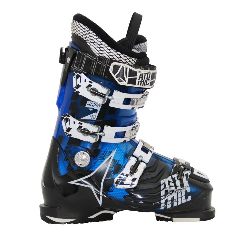 Chaussure de ski occasion Atomic Hawx 100 bleu/noir
