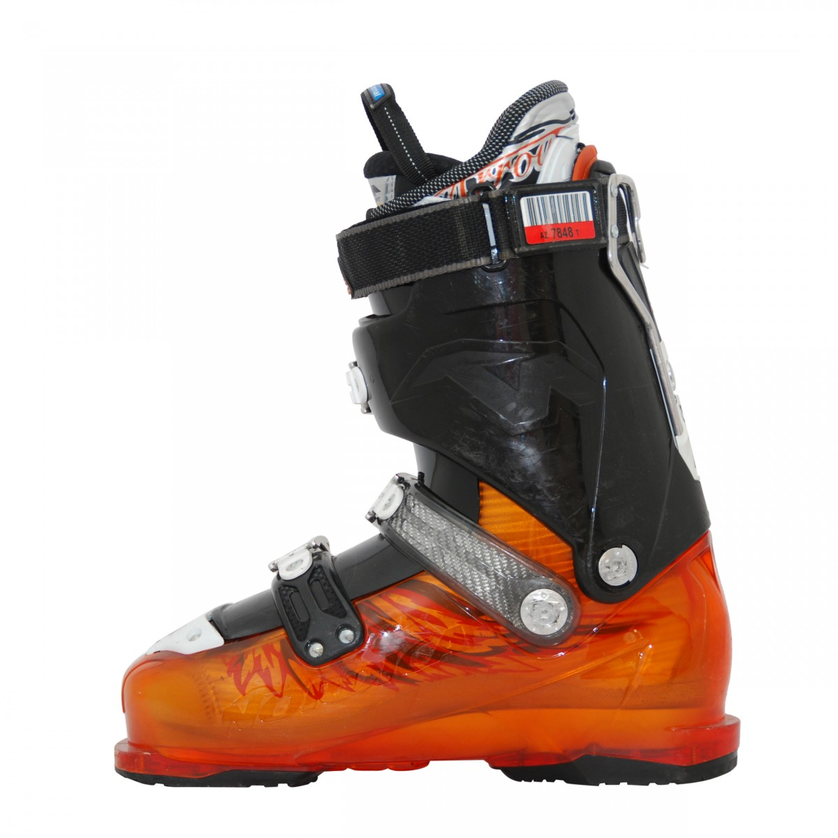 Chaussure-de-Ski-Occasion-Nordica-Firearrow-F4-noir-orange miniature 4