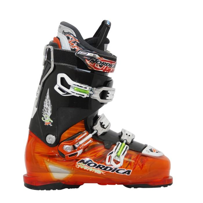 Nordica Firearrow F4 Black / Orange used Ski Shoe