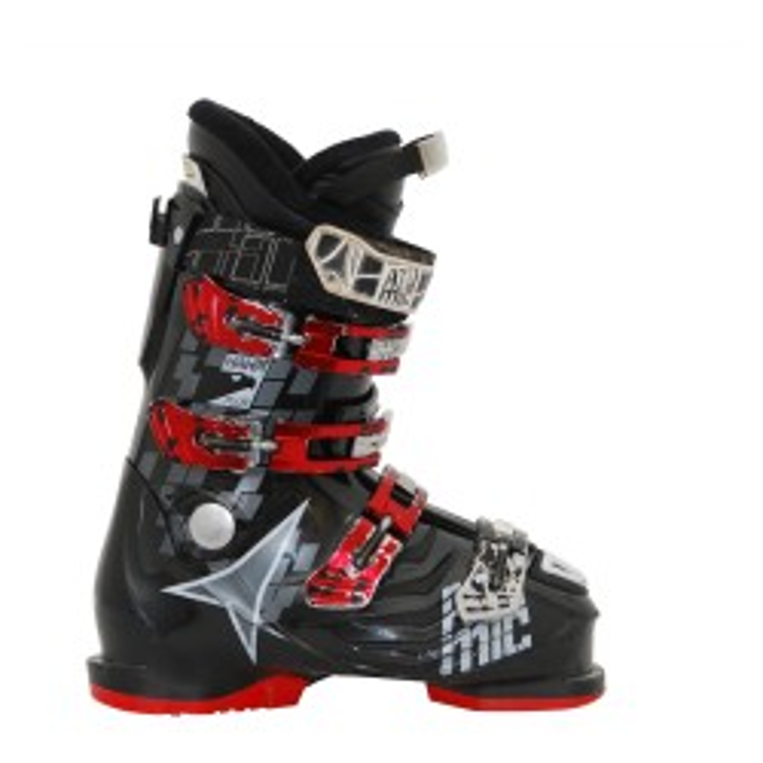 Atomic Hawx Plus Skischuh Grau / Rot Schwarz / Rot