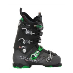 Chaussures de ski occasion Nordica Hell and back h2 noir et vert