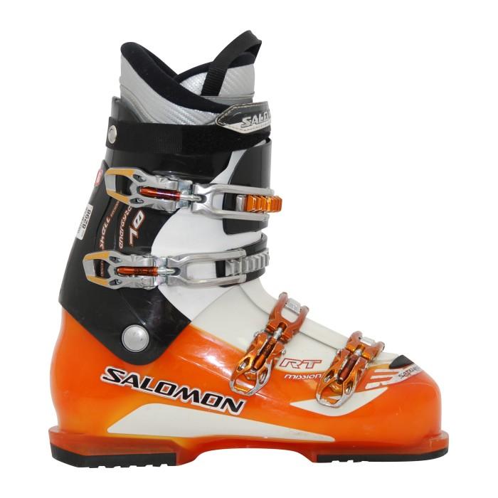 Chaussure de ski Occasion Salomon Mission RT orange/noir