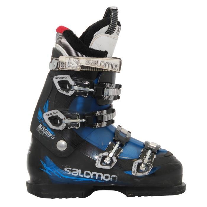Chaussure de ski Occasion Salomon Mission LX noir/bleu