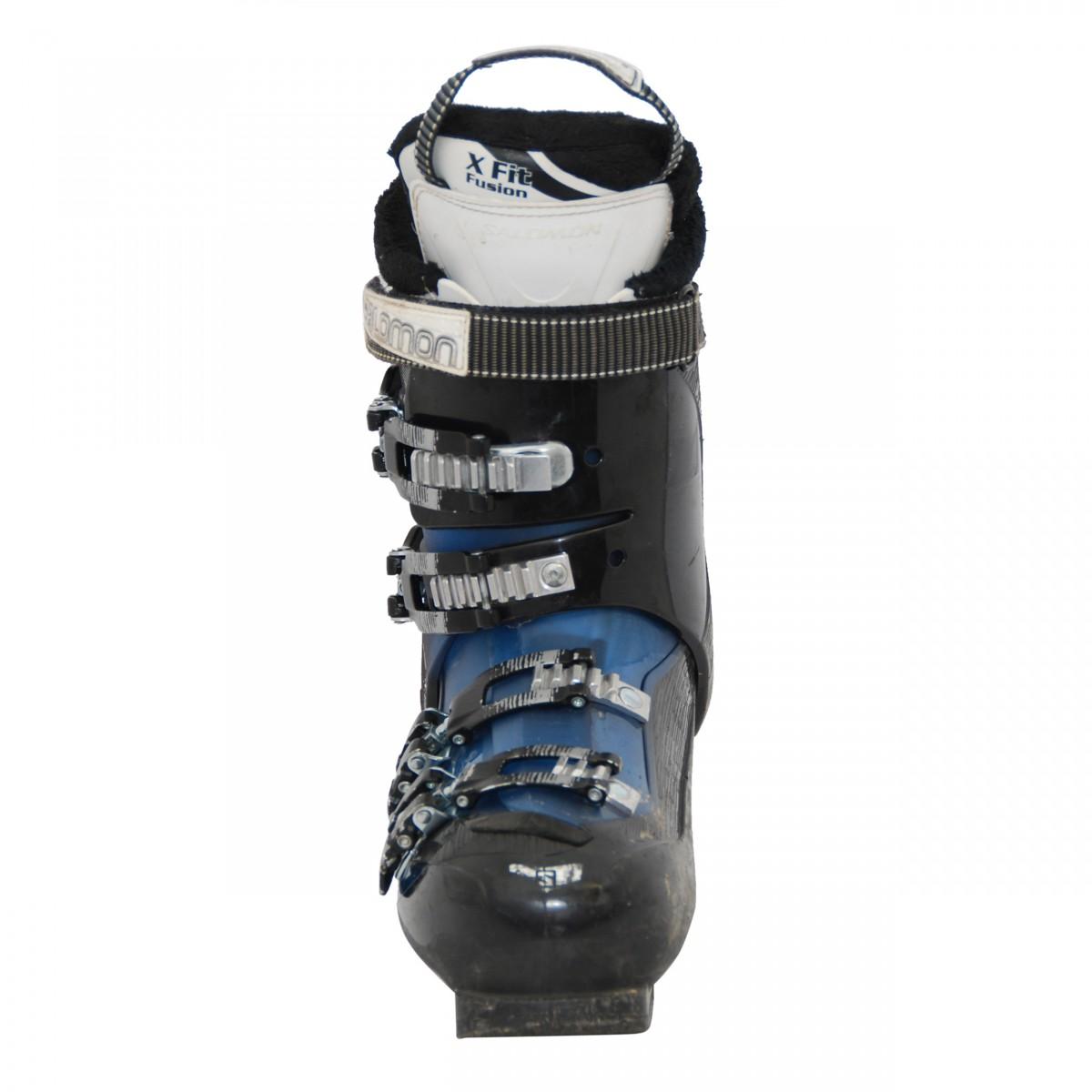 Détails sur Chaussure de ski Occasion Salomon Mission LX noirbleu