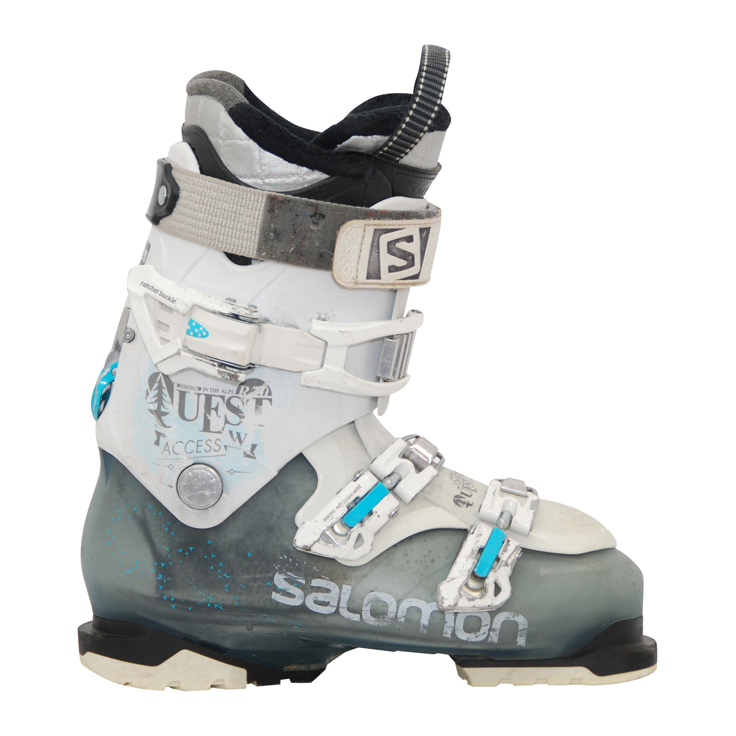 Legare Conservante Erede Salomon Quest 80 Ski Boots Sabbioso Omosessuale Ammaccatura