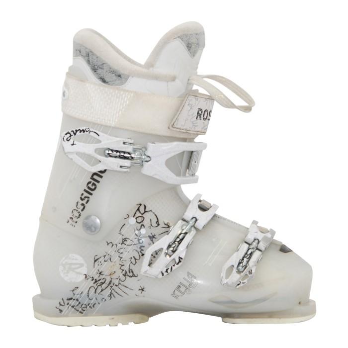 Chaussure ski occasion Rossignol Kelia sensor 60 blanc