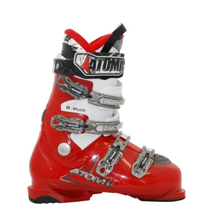 Chaussure de ski occasion Atomic modèle B Tech rouge