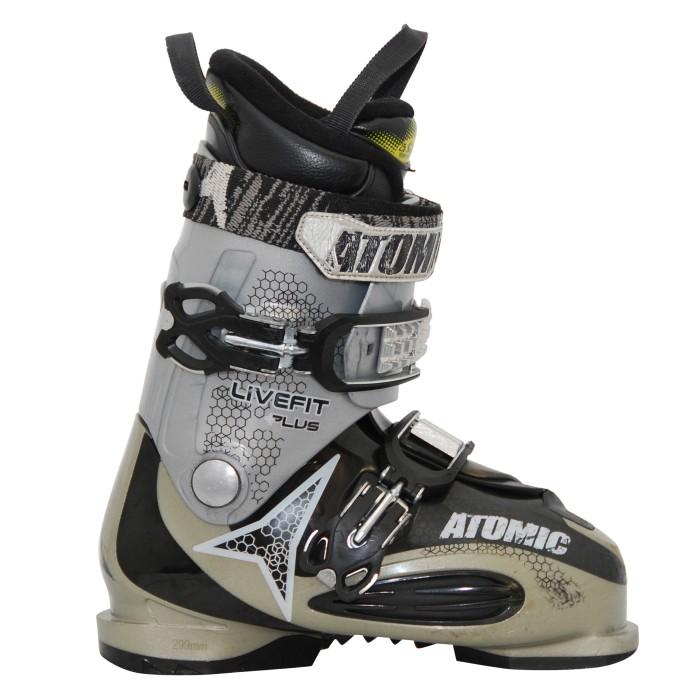 Atomic live used ski boot fit grayer