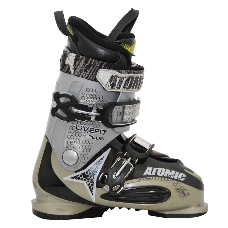 Chaussure de ski occasion Atomic live fit plus gris qualité A