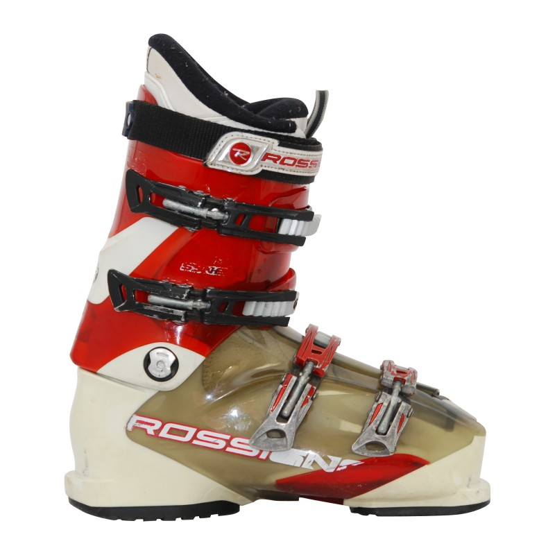 Chaussure de ski Occasion Rossignol Synergy sensor rouge/blanc qualité A