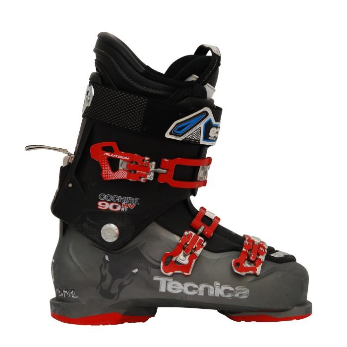 Chaussure de ski occasion Tecnica Cochise 90 HV RT noir/gris