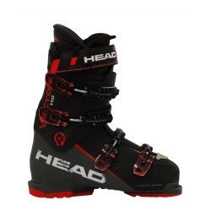 Chaussures de ski occasion Head Vector evo 110 noir/rouge