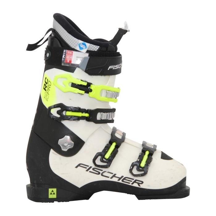 Gebrauchte Skischuhe Fischer RC pro xtr 90 weiß/schwarz