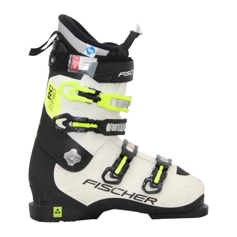 Chaussure de Ski occasion Fischer RC pro xtr 90 blanc/noir qualité A
