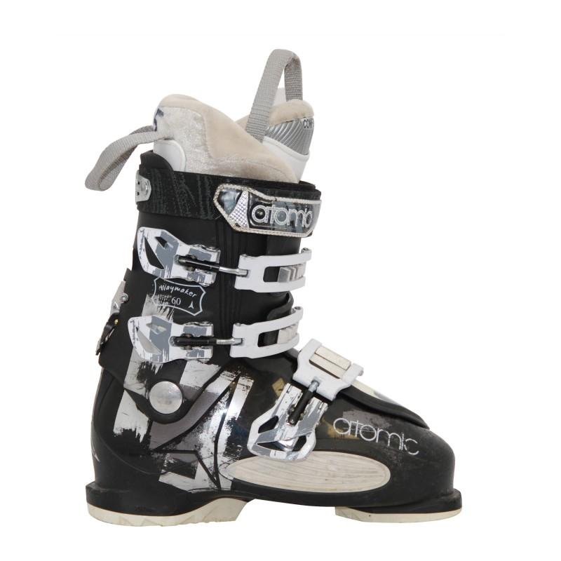 Chaussures de ski occasion Atomic waymaker 60 noir qualité A