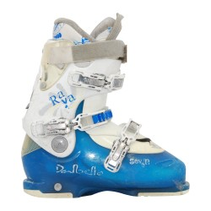 Dalbello Raya 9 bota de esquí usada azul/blanco