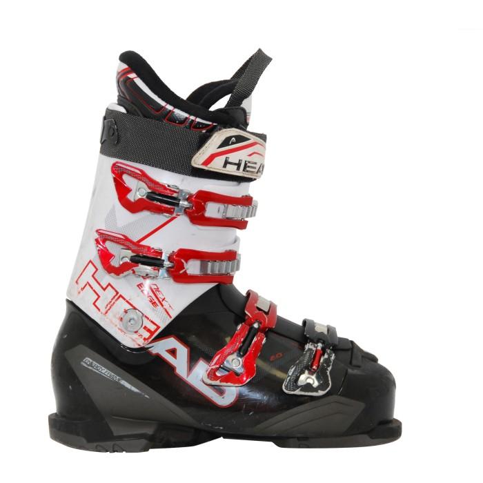 Head next edge botas de esquí en blanco/blanco/rojo