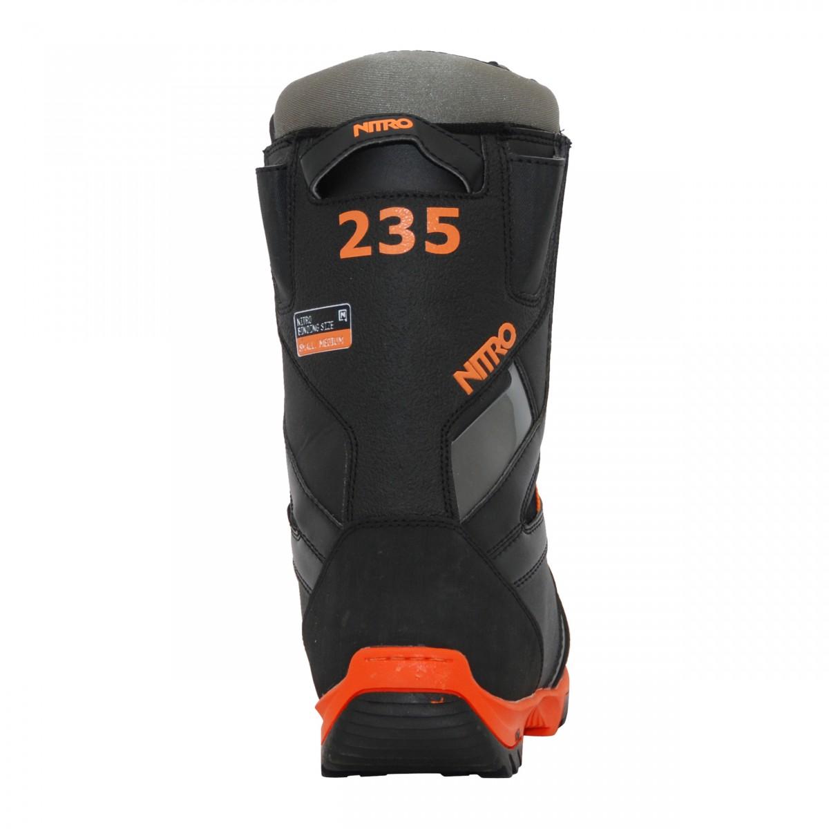 Boots-occasion-de-snowboard-occasion-Nitro-TlS miniature 3