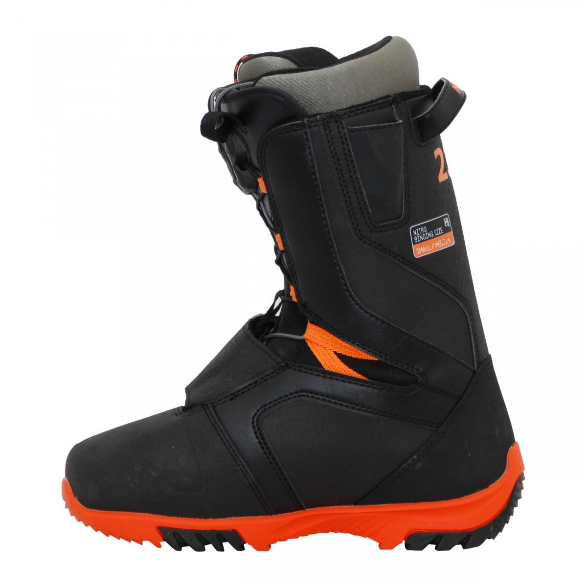 Boots-occasion-de-snowboard-occasion-Nitro-TlS miniature 4