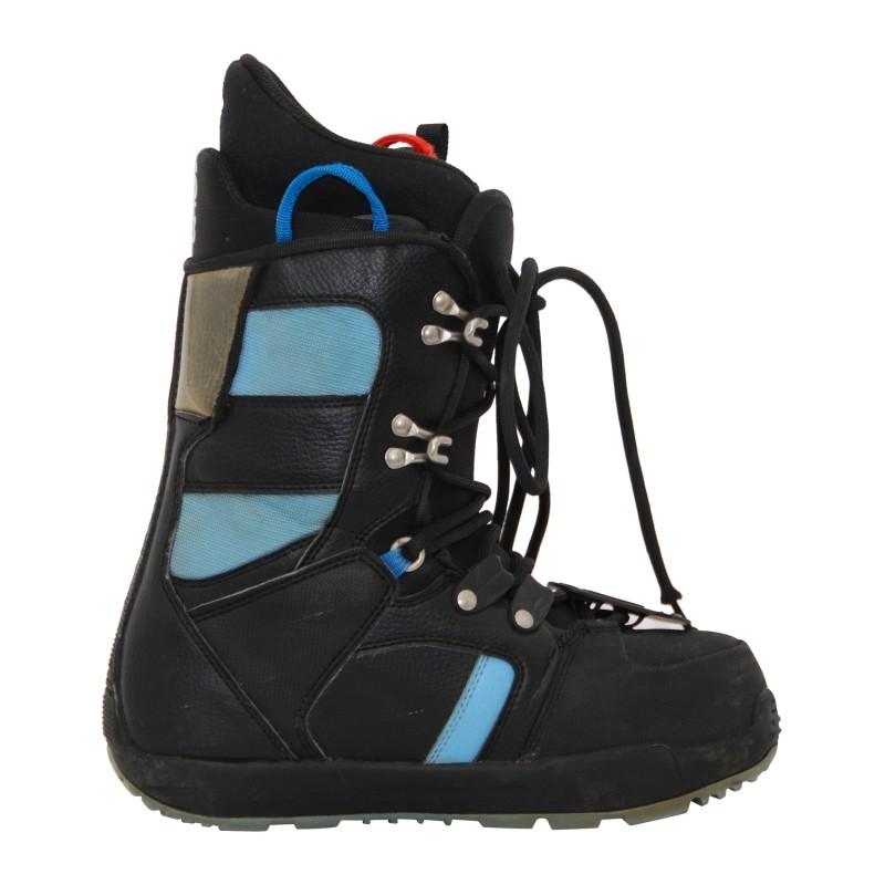 Boots occasion Burton progression women's noir et bleu qualité A