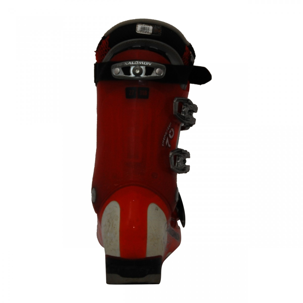 Chaussure de ski Occasion Salomon Mission 770880 rougeblanc