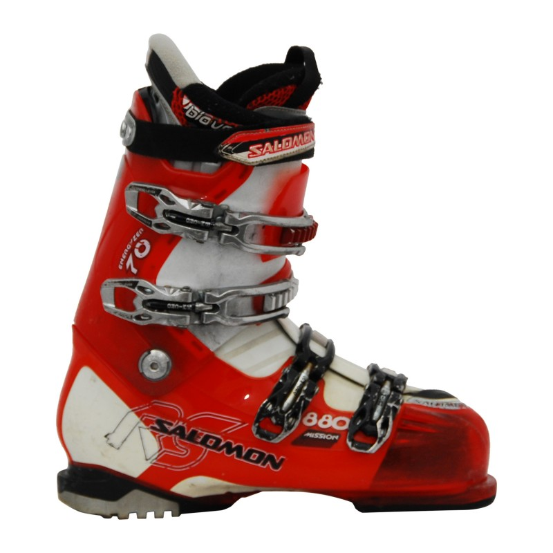 Chaussure de ski Occasion Salomon Mission 770 rouge/blanc