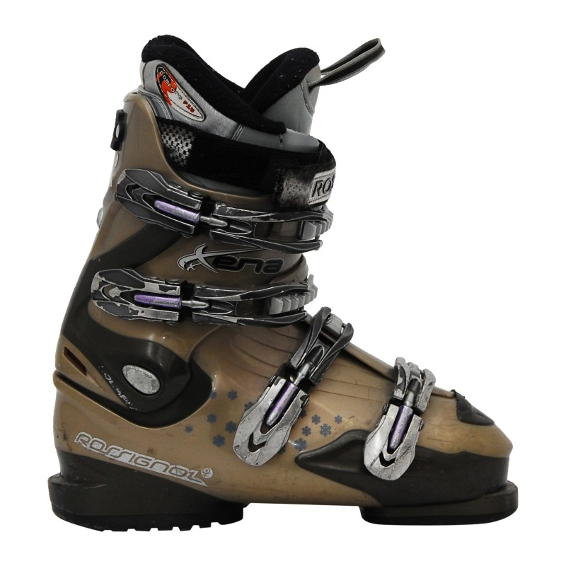Chaussures de ski occasion Rossignol xena gris qualité A