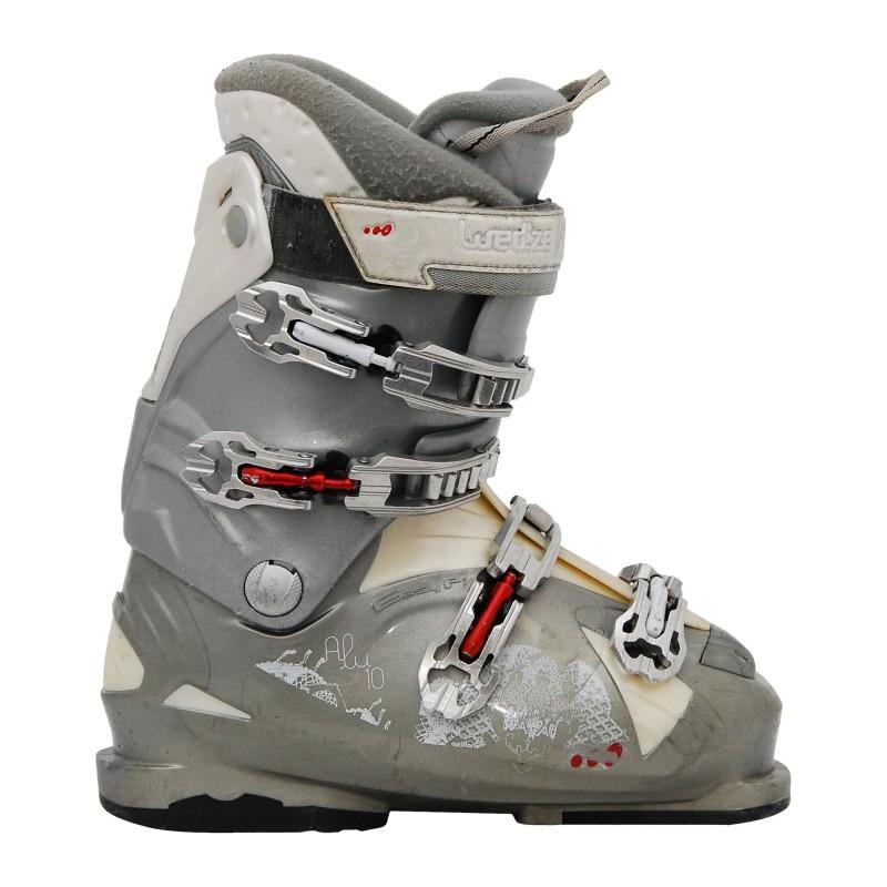 chassure de ski occasion femme wed'ze ali 10 gris qualité A