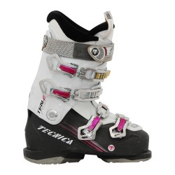 Used Tecnica ten 2 ski boots black / white