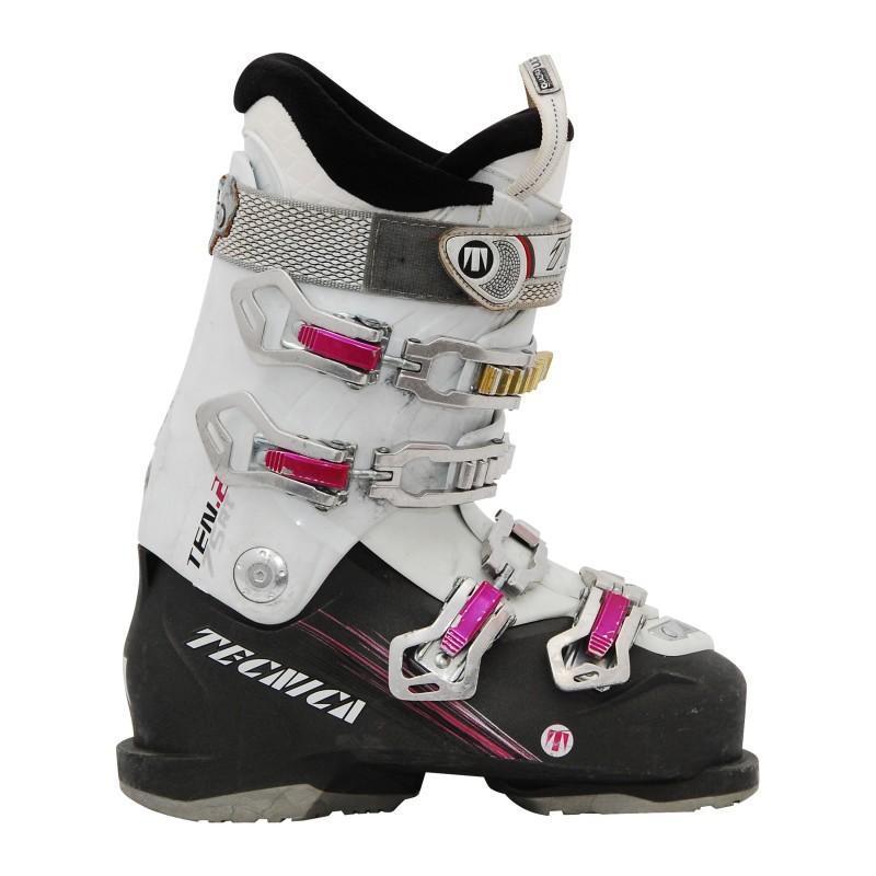 Gebrauchte Tecnica ten 2 Skischuhe schwarz / weiß