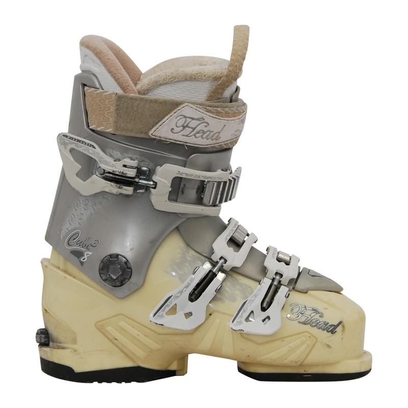 Chaussure de Ski Occasion femme Head cube 3 8 beige/gris