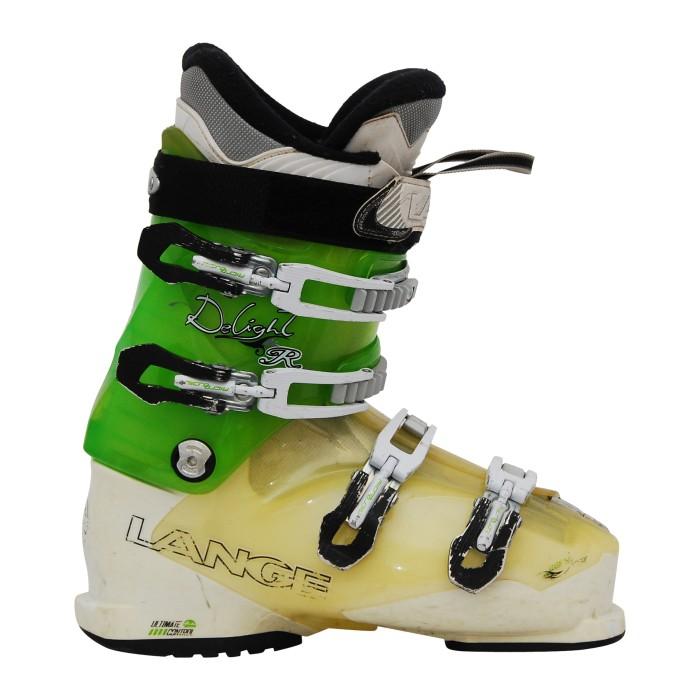 Lang Delight R Skischuh grün / weiß