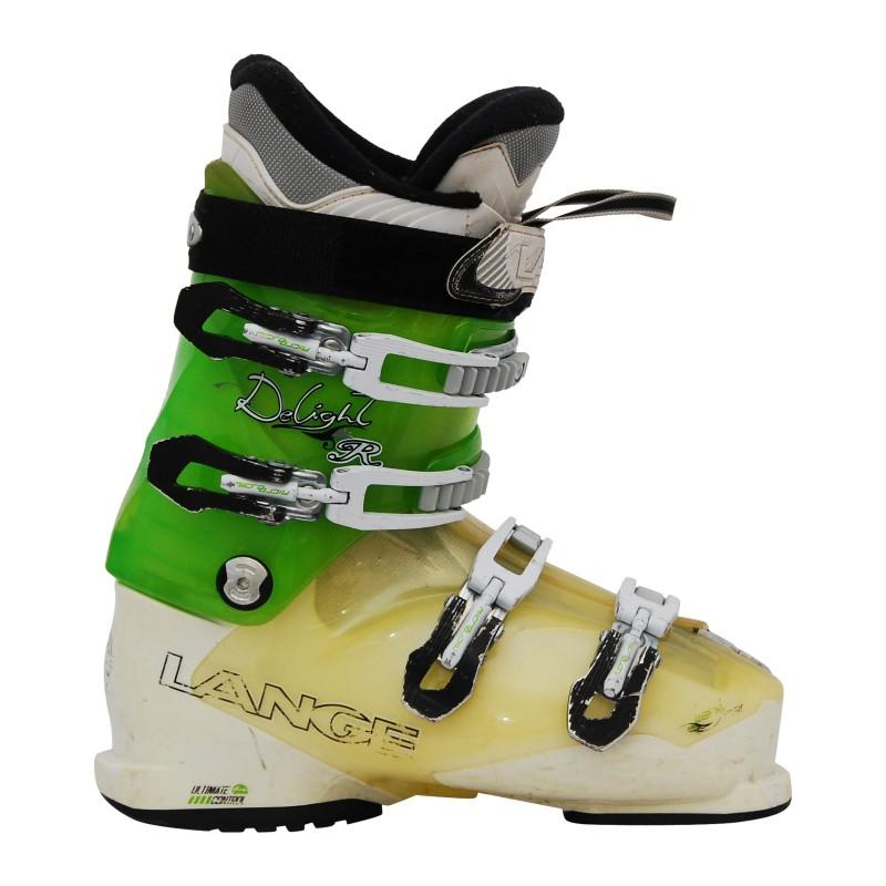 Chaussure de Ski Occasion femme Lange Delight R vert/blanc