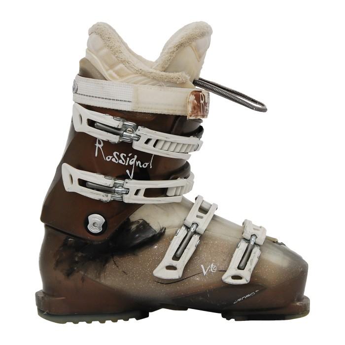 used Rossignol vita brown ski boot