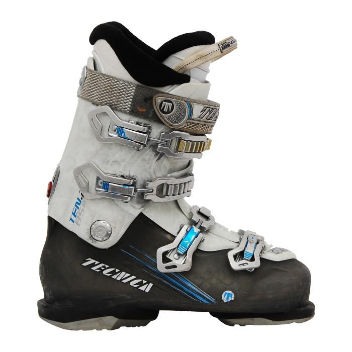 Botas de esquí usadas Tecnica ten 2 85 rt blanco / gris / azul