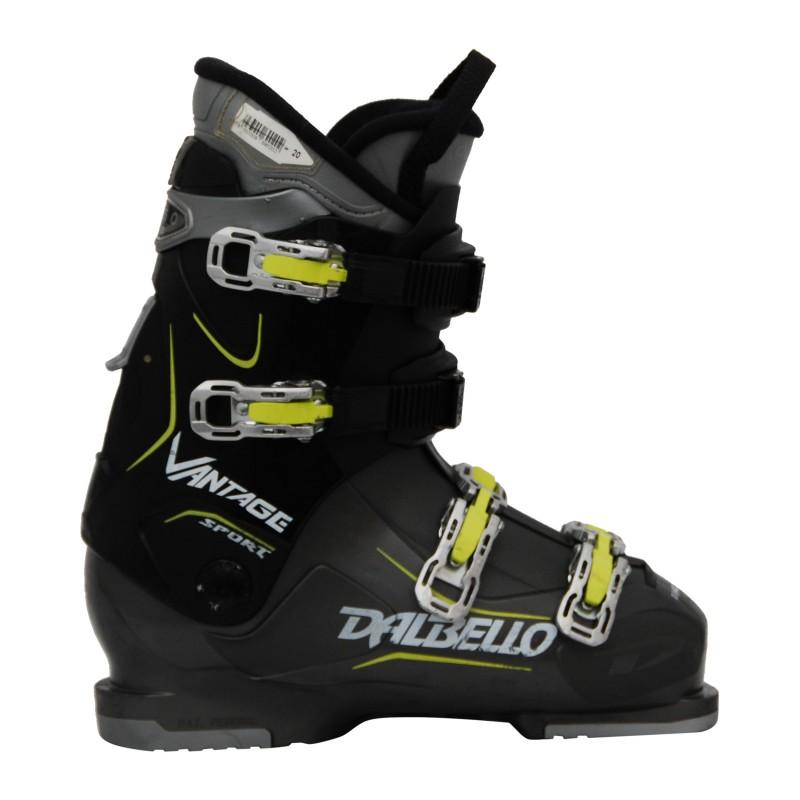 Chaussures de ski occasion Dalbello vantage sport rtl noir jaune