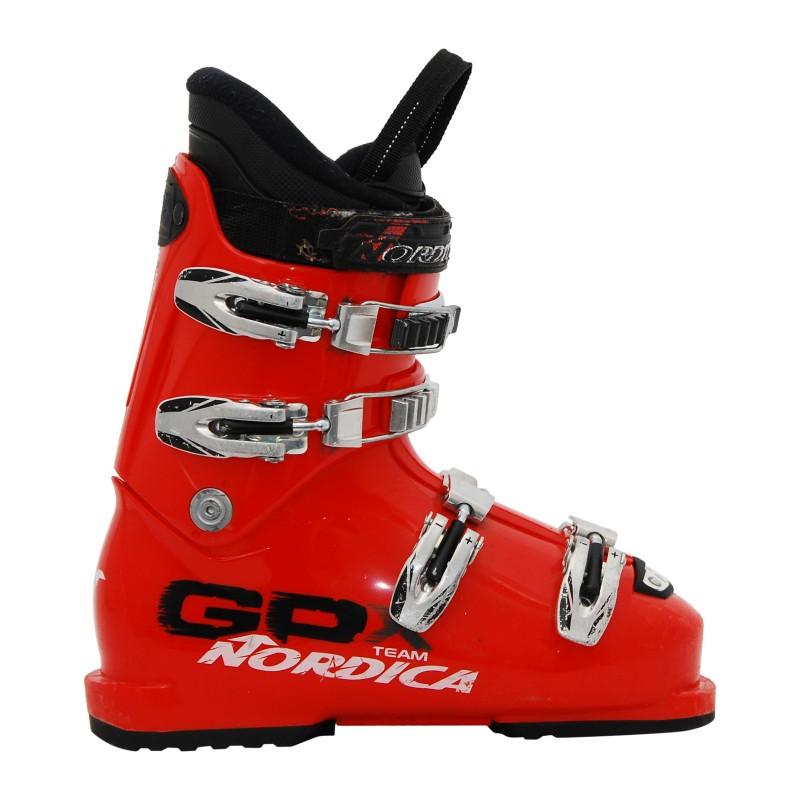 Chaussure de Ski Occasion Junior Nordica GPX team rouge qualité A