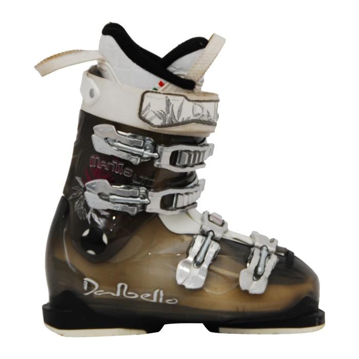 Dalbello mantis LTD translucent brown ski boot.