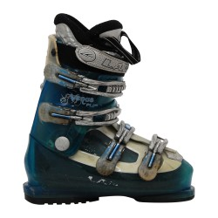 Ski Boot Lange Vene più Blu Traslucido
