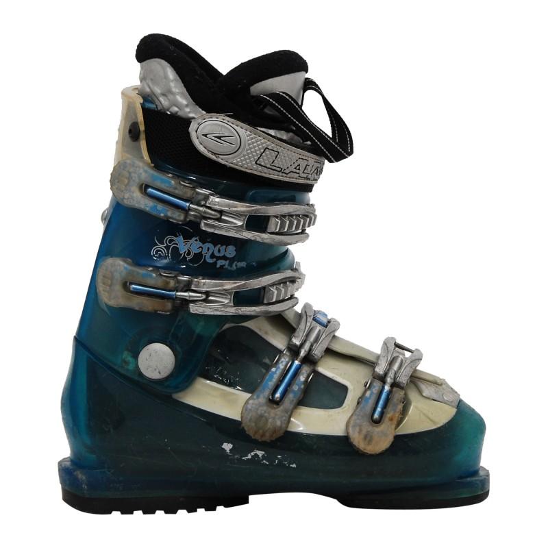 Chaussure de Ski Occasion Lange Venus Plus Bleu translucide qualité A