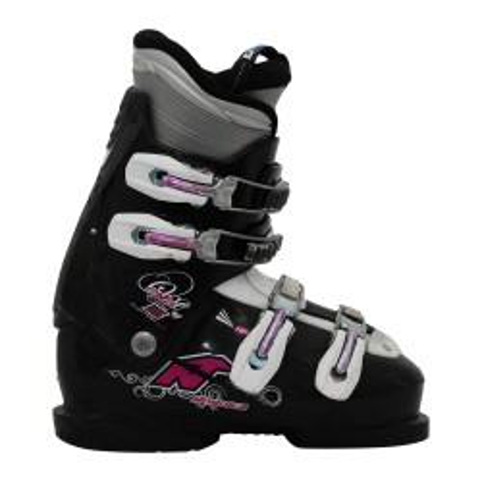 Ski Gelegenheit Nordica Easy One 5 w schwarz/lila Skischuh