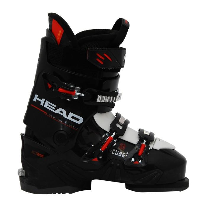 Skischuh Gelegenheit Kopfwürfel 3 8 schwarz/weiß/rot