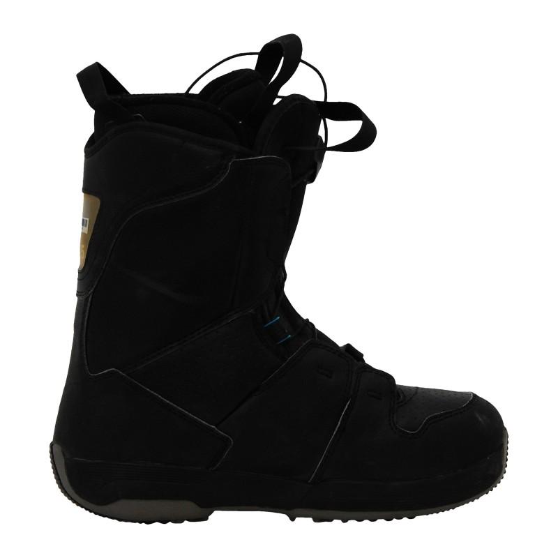 Boots occasion Salomon noir et bleu