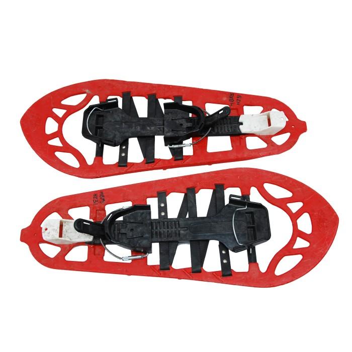 TSL 810 completo da snowboard con ciaspole rosso