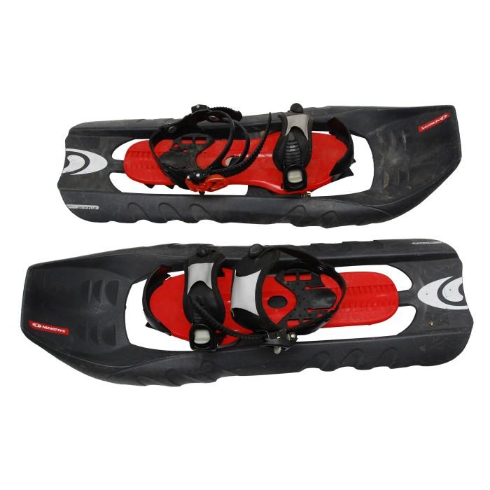 Gebrauchte schwarze Salomon Active Schneeschuh