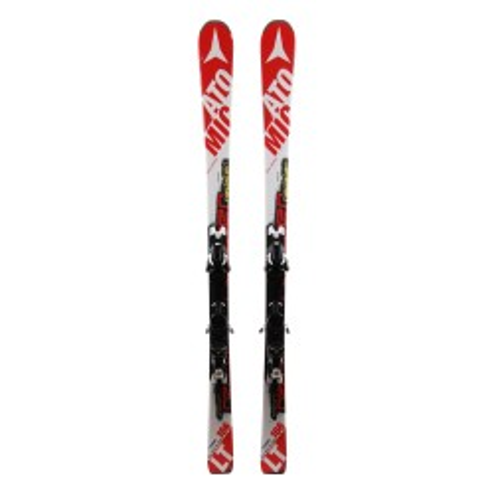 Ski Atomic Redster LT gebraucht - Bindungen