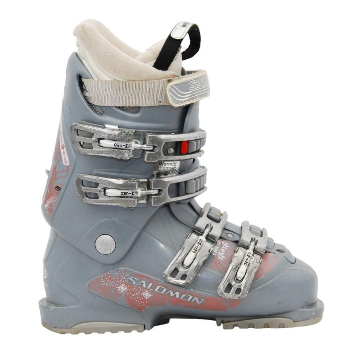 Chaussures de ski occasion Salomon charm gris